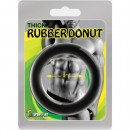Thick Rubber Donut Cockring - 40 mm. (1.50 inch)